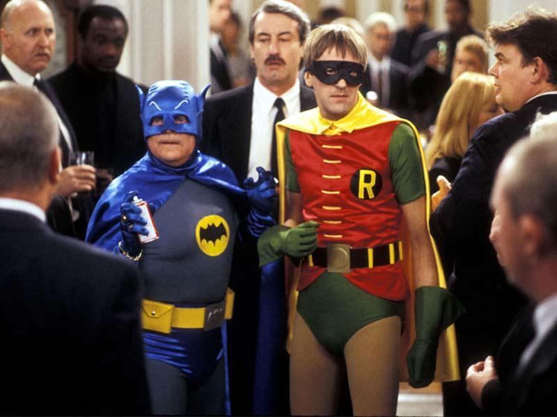 Del i Rodney kao Betmen i Robin