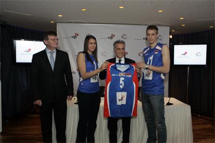 Peta godina uspešne saradnje Vip mobile i Odbojkaškog saveza Srbije