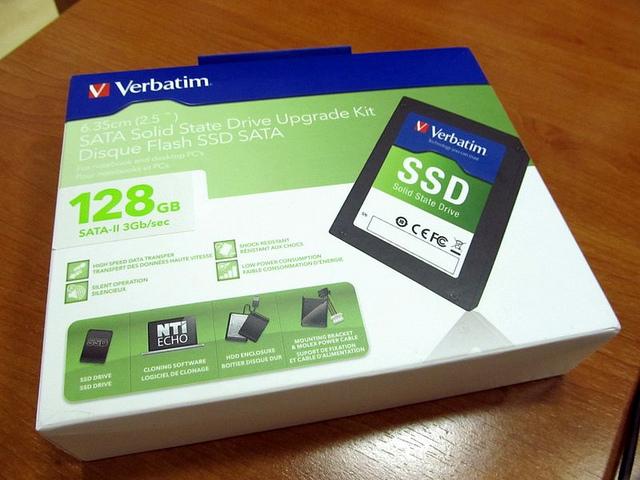 """Verbatim SSD komplet za nadogradnju 2,5"""" za dvostruko ubrzanje računara"""
