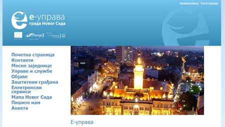 e-uprava Novog Sada