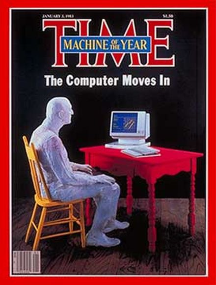 "time person of the year 1982 the computer Pre 30 godina TIME proglasio računar za ""ličnost godine"""