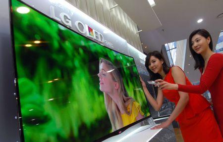 LG_Zakrivljeni OLED televizor1