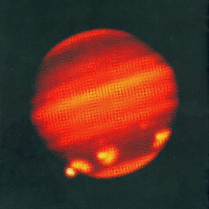 Snimak Jupitera sa teleskopa Herschel