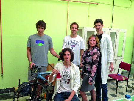 Ekipa Pete beogradske gimnazije