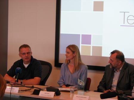 Siniša Perović - Microsoft, Irina Simin - TeleSkin i prim dr Jadran Bandić