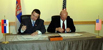 Ivica Dačić i Steve Ballmer