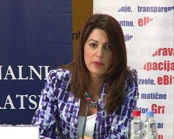 Državni sekretar Ministarstva spoljne i unutrašnje trgovine i telekomunikacija Vlade Republike Srbije Tatjana Matić