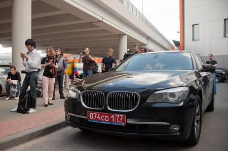Edward Joseph Snowden dolazi na aerodrom šeremetjevo