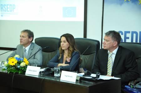 Vensan Dezer, Jelena Spasic - Ministarstvo ekonomije, Hugh Brooks - Tim lider RSEDP2