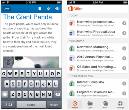 office for iPhone 2