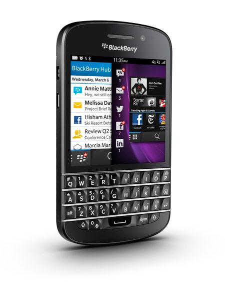 q10 Blackberry Q10 za nemačku kancelarku