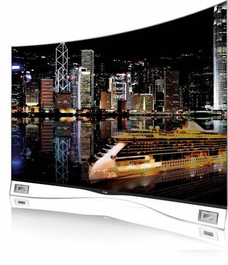 LG Zakrivljeni OLED televizor