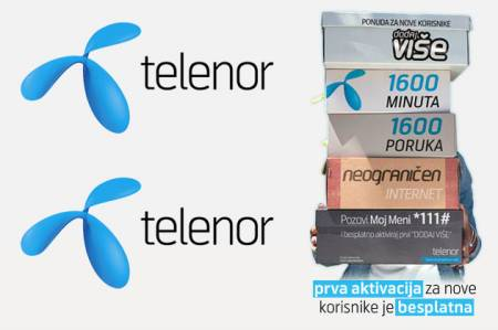 telenor Telenor Srbija trenutno ima bazu od 3,1 miliona korisnika