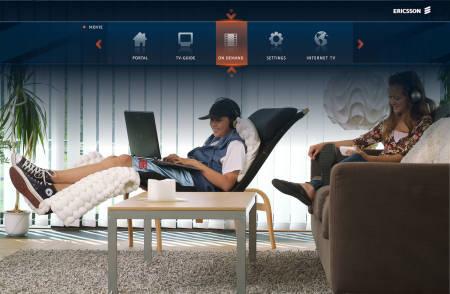 Ericsson TV platforma