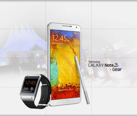 Samsung Galaxy Note 3 + Gear