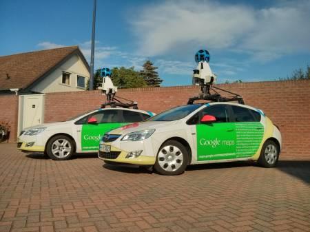 Google Street View automobili u Srbiji