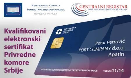 elektronski sertifikat