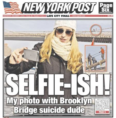 New York Post Selfie Ragout