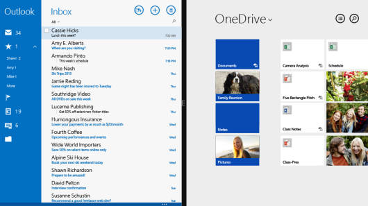 OneDrive_Win8_50-50_MailApp-Modern