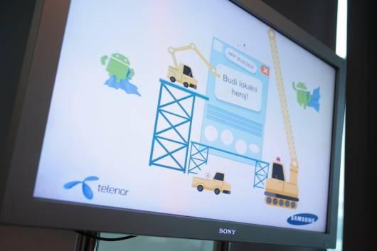 Proglasenje pobednika poslednjeg kruga Telenor i Samsung App Builder takmicenja