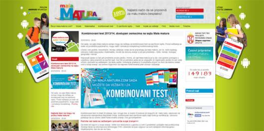 Besplatna priprema za kombinovani test na internetu i preko mobilnog