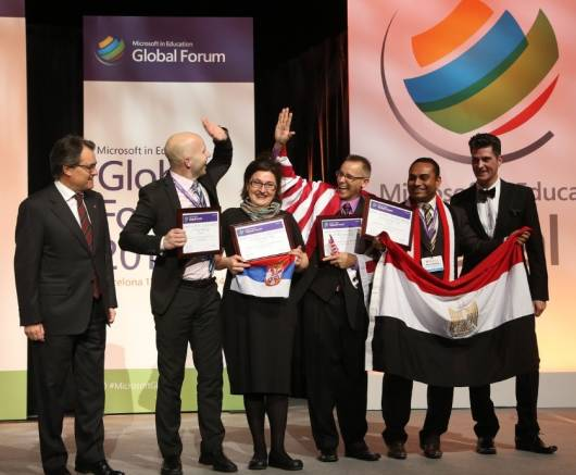 Treća nagrada Microsoft-a za pripremu za čas nastalu internacionalnom saradnjom nastavnika na Globalnom obrazovnom forumu