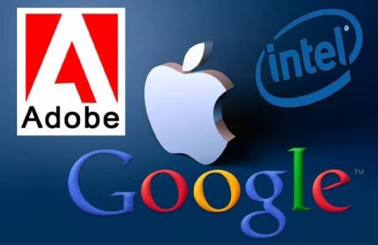 Adobe Apple Google i Intel