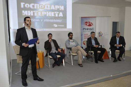 Gospodari interneta Slobodan Markovic i panelisti