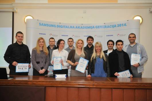 Grupa polaznika Digitalne akademije