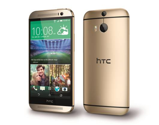 HTC One M8__Gold