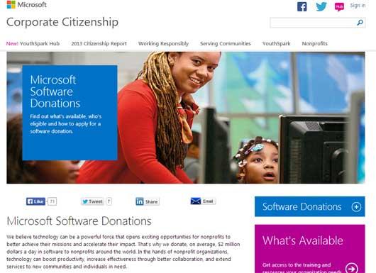 microsoft-softverks-donacije