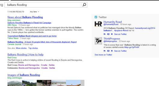 Bing za Balkan