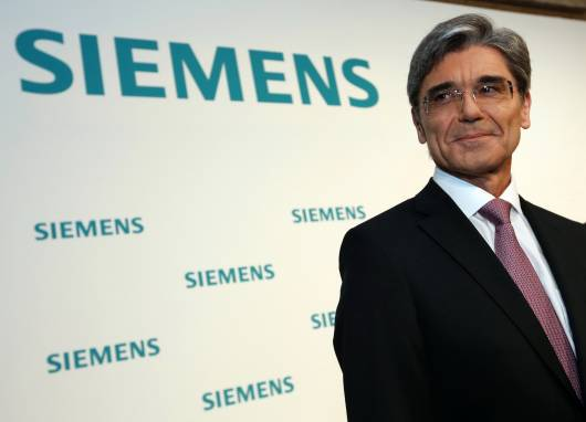Joe Kaeser CEO Siemens AG