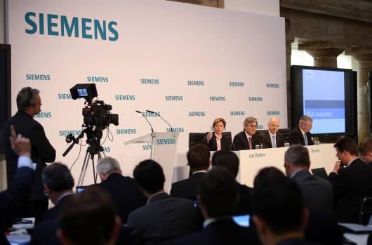 Gemeinsame Halbjahres-Presse- und Analystenkonferenz 2014- Siemens - Vision 2020: Neuausrichtung des Konzerns / Combined Semiannual Press and Analyst Conference 2014 - Siemens - Vision 2020: Company reorganization