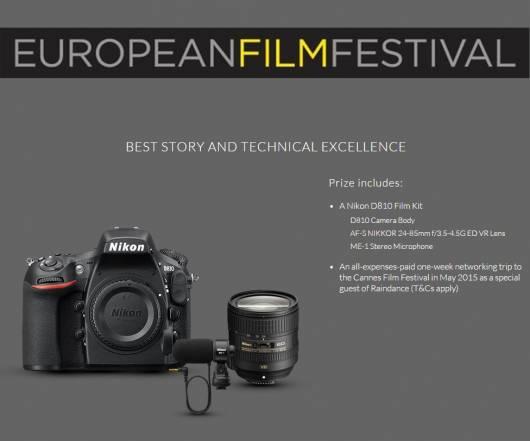 Nikon evropski filmski festival