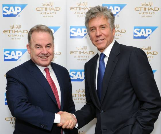 Etihad Airways Selects SAP as a Strategic Technology Partner for Busines...
