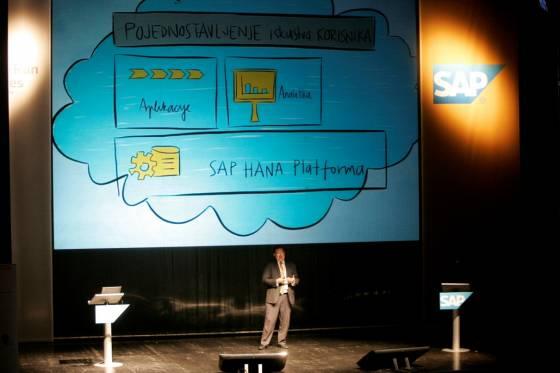 Vojisav Genic na otvaranju SAP Forum 2014