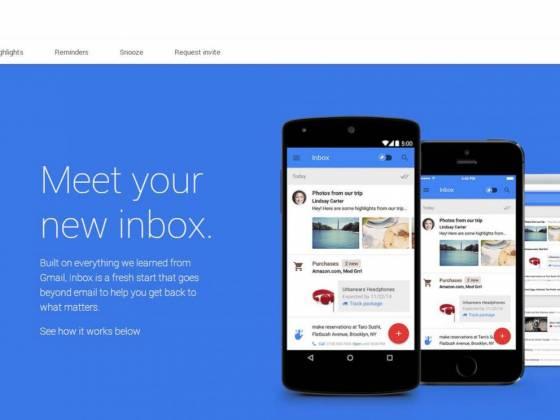 google inbox Google predstavio Inbox