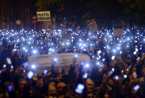 madjarska internet protest
