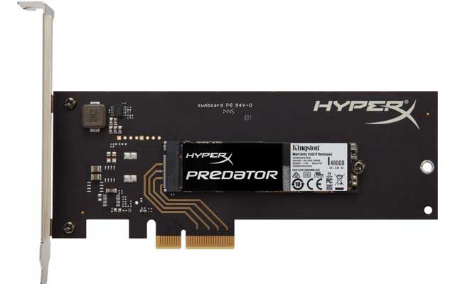 HyperX Predator PCIe SSD