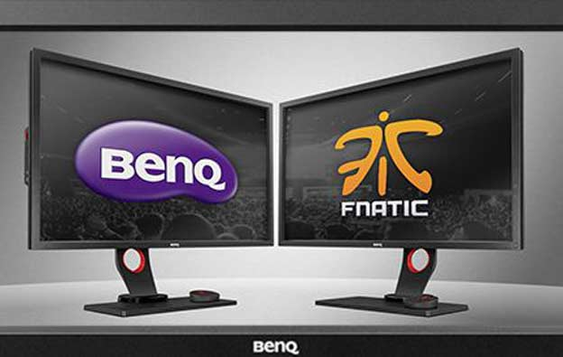 BenQ Fnatic partnerstvo