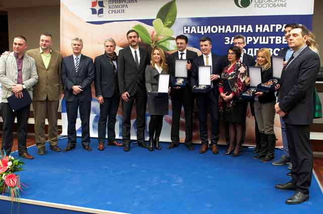 Telekom Srbija dobitnik nagrade Privredne komore Srbije
