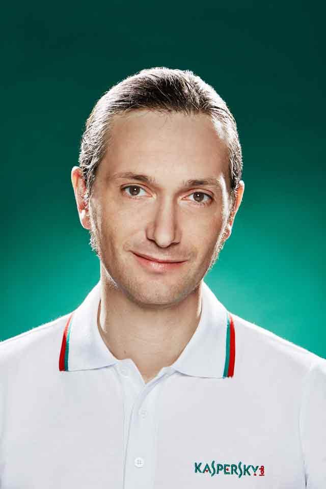 Oleg Gorobets, tehnološki ekspert kompanije Kaspersky Lab