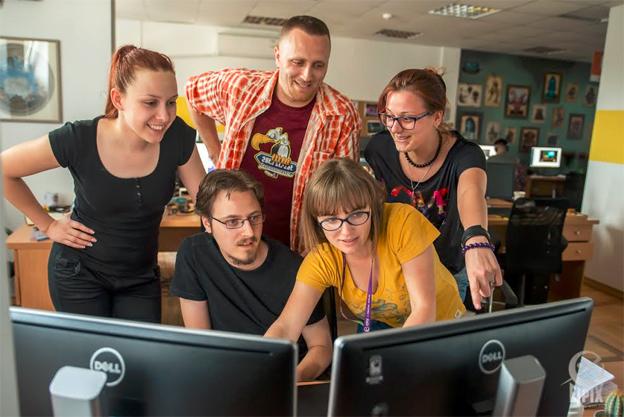 Detalj atmosfere iz  novosadske kompanije Eipix koja razvija HOPA igre za globalno tržište