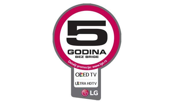 LG 5 godina garancije