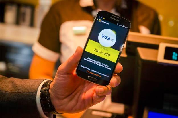 Visa bezkontaktno plaćanje