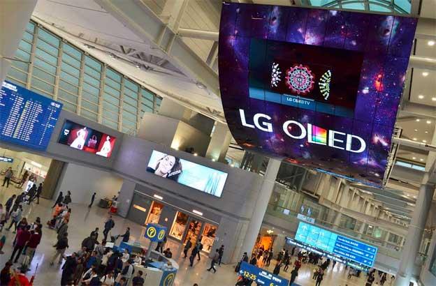 n dva najveća OLED ekrana na svetu