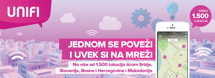 UNIFI mreža