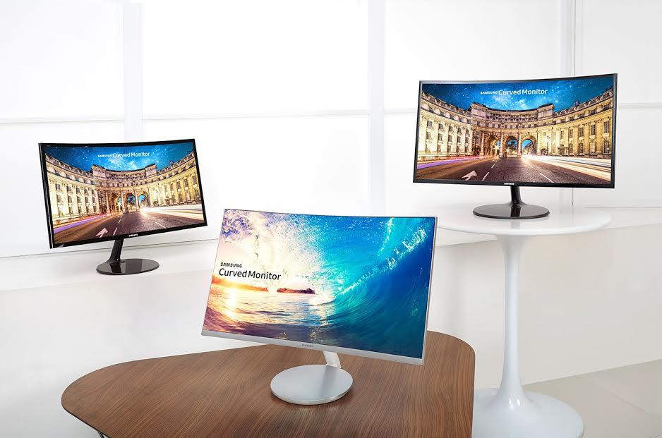 samsung zakrivljeni monitori