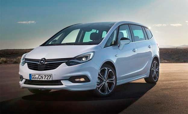 Nova Opel Zafira